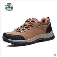 战地吉普男士户外登山鞋 运动户外鞋真皮牛皮男鞋徒步鞋旅游皮鞋AJ9A928