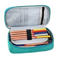 高中初中生牛津布大容量韩版简约多功能男女笔袋文具铅笔盒