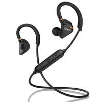 Edifier 漫步者 W296BT 立体声蓝牙运动耳机 入耳式耳机 手机耳机 带麦可通话 暗金黑