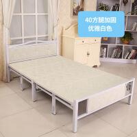 简易木床折叠铁床简易折叠床铁床木板床午睡床午休床陪护单人床双人床家用加厚