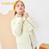 【�_�W季 折后�B券�A估�r:94】巴拉巴拉童�b女童棉服�和�棉衣童�b中大童附��脖甜美洋��
