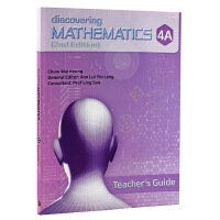 【中商原版】【新加坡中学数学教材】Discovering Mathematics Teacher's Guide 4A