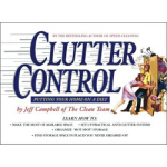 【正版直发】Clutter Control Putting Your Home on a Diet Jeff Camp