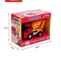 混凝土搅拌车玩具惯性工程车小汽车儿童宝宝