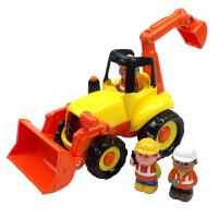【当当自营】宝乐童益智玩具工程车2-6岁儿童玩具车模型1815