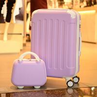 行李箱女拉杆箱小清新网红旅行密码皮箱万向轮个性大学生可爱韩版