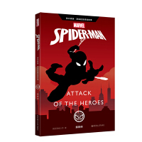 英文原版 漫威超级英雄故事.蜘蛛侠 Spider-Man: Attack of the Heroes(赠英文音频与单词