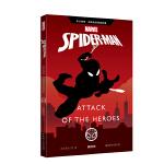 英文原版 漫威超级英雄故事.蜘蛛侠 Spider-Man: Attack of the Heroes(赠英文音频与单词随身查APP)