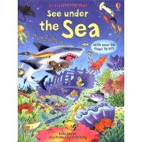 See Under the Sea 看看内部翻翻书:海底