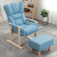 沙发躺椅床躺椅多功能折叠老人实木家具休闲靠背椅家用半躺床午休电脑