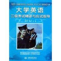 大学英语三级考试精讲与应试指导
