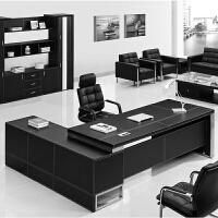 办公家具办公桌老板桌简约现代新款大气大班台总裁桌时尚经理桌椅