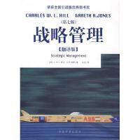 战略管理第七版.翻译版 希尔