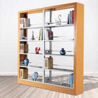图书馆书架钢制铁皮学校档案架书店书籍室资料展示架货架
