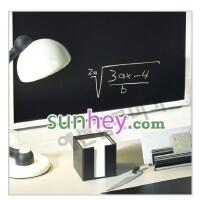 环保 韩国黑板贴膜 墙面改变成黑板 贴膜墙贴 可擦写SH2229 宽90CM*长50CM