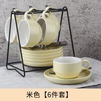 【家装节 夏季狂欢】欧式咖啡杯套装小奢华 陶瓷下午茶茶具英式杯