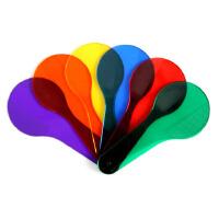 大贸商 六色拍型颜色片 儿童学习配色 早教 教具 6片-AP07697