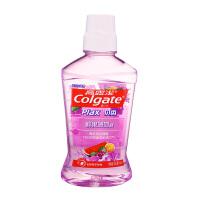 高露洁(Colgate) 贝齿鲜果薄荷漱口水500ml 无酒精