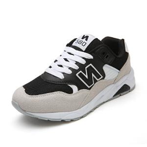NBanao新百伦女鞋新款跑步鞋秋季运动鞋女复古网面透气旅游鞋休闲跑鞋