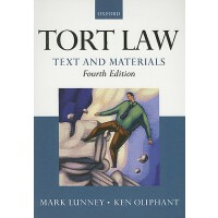 【预订】Tort Law: Text and Materials 9780199571802
