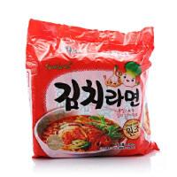 [当当自营] 韩国进口 三养泡菜风味拉面5连包 120g*5