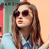帕森太阳镜 女士金属猫眼大框尼龙镜片潮墨镜驾驶镜 2019新品8201