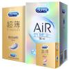[当当自营]Durex杜蕾斯避孕套安全套组合装22只(Air空气快感3合1装16只+紧型超薄4只+倍滑超薄2只)