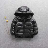 女童装季保暖外套女宝宝女婴儿中童235-6岁装连帽羽绒服