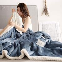 毛毯被子加厚秋冬季珊瑚绒毯子单人保暖床单双层法兰绒女学生宿舍