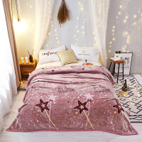君别毛毯被子冬季加厚保暖珊瑚绒单人学生宿舍1.2米5床毛绒铺床毯子