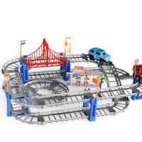 童励托马斯小火车套装轨道车电动火车 儿童玩具车轨道赛车汽车男