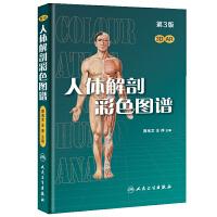 人�w解剖彩色�D�V(第3版/配增值)