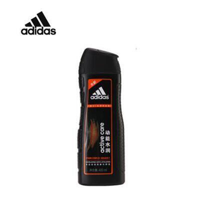 阿迪达斯 adidas 男士洗发水 去屑洗发露系列 动能水润-维他命-400ml 夏季护肤 防晒补水保湿 可支持礼品卡