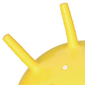 【当当自营】费雪FisherPrice 18寸手柄加厚羊角跳跳球充气球幼儿园儿童户外玩具球跳跳球(送脚泵) 蓝色出行F0701-1