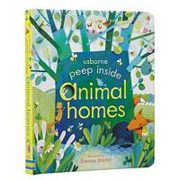 Peep Inside Animal Homes 偷偷看里面低幼翻翻书:动物的家