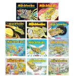 【中商原版】神奇校车系列7册套装 神奇校巴 英文原版 The Magic School Bus 儿童科普图画书 科普读