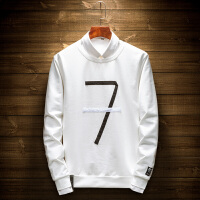 套头卫衣男2018春季新款长袖T恤青年时尚百搭中学生打底衫上衣潮 HZY-7756