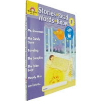 Stories to Read,Words to Know Level F 英文原版 美国加州教材 Evan Moor