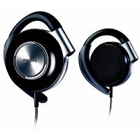飞利浦SHS4700黑 SHS4705黑 运动耳机 跑步耳机 耳挂式耳机 mp3耳机