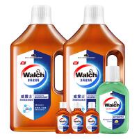 威露士消毒液1Lx2衣物家居多用途消毒液+新加坡版消毒液330ml+60mlx3
