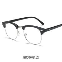 眼镜男女款防蓝光电脑护目镜配眼睛架韩版平光眼镜框潮