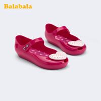 【3件5折价:80】巴拉巴拉官方童鞋凉鞋儿童女小童鞋公主鞋玛丽珍鞋女夏季