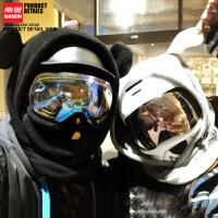 滑雪头套面罩保暖小动物儿童滑雪护脸头盔头套男女
