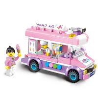 积木女孩子拼装组装益智玩具公主拼图5-6-10岁8生日礼物