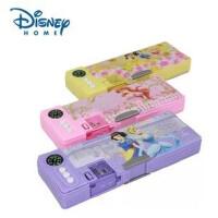 迪士尼可爱公主闪光文具盒 双层多功能铅笔盒 P5054