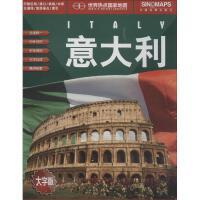 意大利(大字版) 中国地图出版社