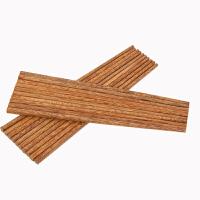 新款环保鸡翅木筷子家用实木套装10双无漆无蜡中式餐具20