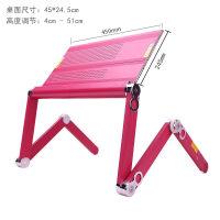 20190402220528873笔记本电脑支架床上用懒人桌可移动升降桌床上折叠书桌写字桌