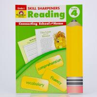 [英文原版]Skill Sharpeners Reading, Grade 4 阅读技巧: