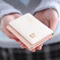 新款新款女士钱包女短款日韩版可爱零钱包小清新简约迷你卡通学生卡包